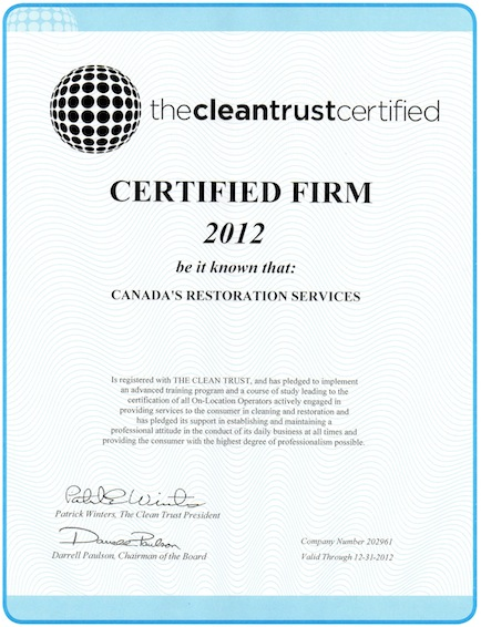 Canada S Restoration Services Of Toronto And Montreal